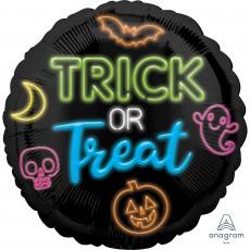 Halloween Party Decorations - Foil Balloon Standard HX Neon