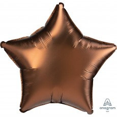 Brown Satin Luxe Cocoa Standard XL Shaped Balloon
