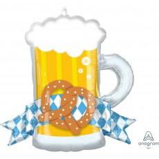 Oktoberfest Party Decorations - Shaped Balloon SuperShape XL Mug