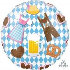Oktoberfest Standard HX Foil Balloon