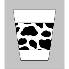 Cowboy & Western Printed Plastic Cups Pack of 25