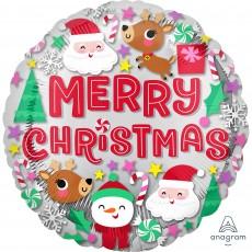 Christmas Party Decorations - Foil Balloon Standard HX Buddies