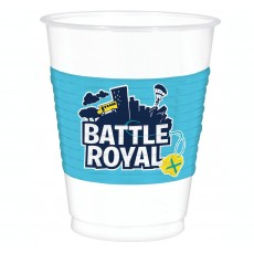 Battle Royal Plastic Cups 473ml Pack of 8