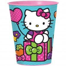 Hello Kitty Rainbow Souvenir Plastic Cup