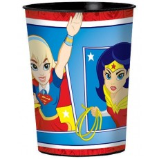 Super Hero Girls Party Supplies - Plastic Cup Favour