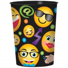 Emoji LOL Smiley Faces Souvenir Plastic Cup