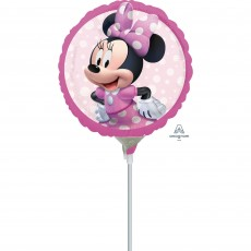 Round Minnie Mouse Forever Foil Balloon 22cm