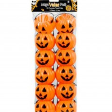 Halloween Smiling Pumpkin Treat Pails Favour Boxes