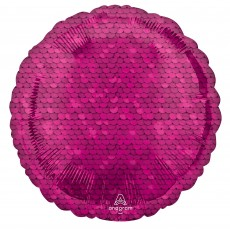 Pink Bright Bright  Sequins Standard HX Foil Balloon