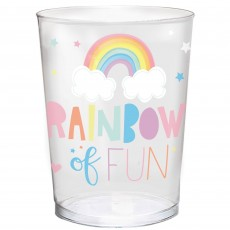 Magical Rainbow Favour Cup Rainbow of Fun Plastic Cup 473ml