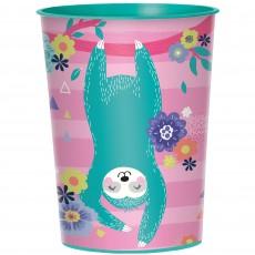 Sloth Favour Plastic Cup 473ml
