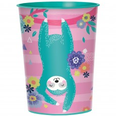 Sloth Favour Plastic Cup