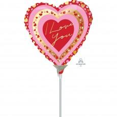 Love Party Decorations - Foil Balloon Pretty Hea