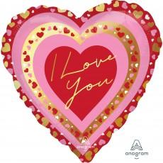 Love Party Decorations - Heart Shaped Balloon Pretty Hearts Jumbo HX