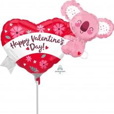 Valentine's Day Mini Koala Shaped Balloon
