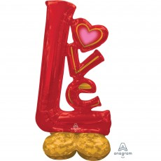 Love Party Decorations - Shaped Balloon CI: AirLoonz Big Love