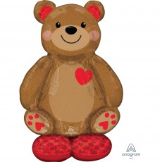 Love Party Decorations - Shaped Balloon CI: AirLoonz Big Cuddly Teddy