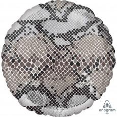 Jungle Animals Standard HX Snake Print Animalz Foil Balloon
