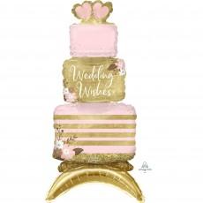 Wedding CI: Decor Cake i Shaped Balloon