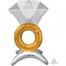 Wedding Party Decorations - Shaped Balloon CI: Wedding Ring