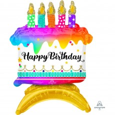 Happy Birthday CI: Cake Foil Balloon