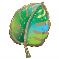 SuperShape XL Palm Frond Leaf Shaped Balloon