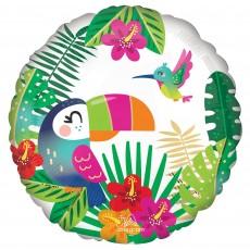 Hawaiian Luau Party Decorations - Foil Balloon Tropical Paradise