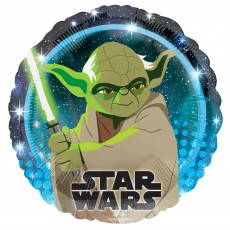 Star Wars Party Decorations - Foil Balloon Galaxy Yoda Standard HX