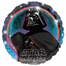 Star Wars Party Decorations - Foil Balloon Galaxy Darth Vader Standard HX