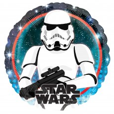 Star Wars Party Decorations - Foil Balloon Galaxy Stormtrooper Standard HX
