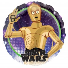 Star Wars Party Decorations - Foil Balloon Galaxy Standard HX