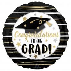 Graduation Party Decorations - Foil Balloon Congratulations to the Grad!