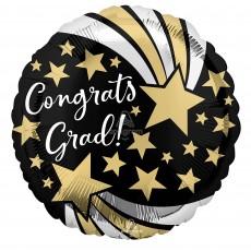 Graduation Party Decorations - Foil Balloon Standard HX Shooting Stars