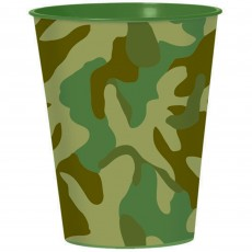Camouflage Favour Plastic Cup