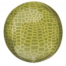 Jungle Animals Alligator Print Animalz Shaped Balloon