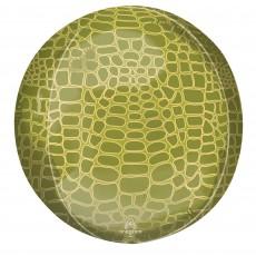 Jungle Animals Party Decorations - Shaped Balloon Alligator Print Animalz