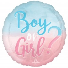 Gender Reveal Party Decorations - Foil Balloon Standard HX