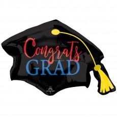 Graduation Party Decorations - Shaped Balloon SuperShape Hat