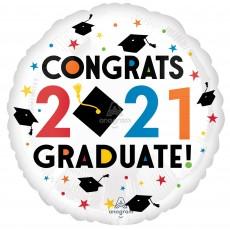 Graduation Party Decorations - Foil Balloon Standard HX