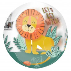 Jungle Animals Party Decorations - Shaped Balloon Get Wild