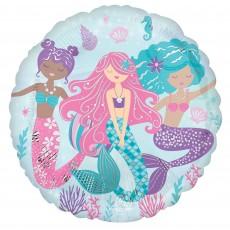 Mermaid Shine Party Decorations - Foil Balloon Shimmering Mermaid Standard HX