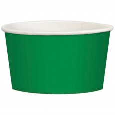 Festive Green Treat Paper Cups 280ml Pack of 20