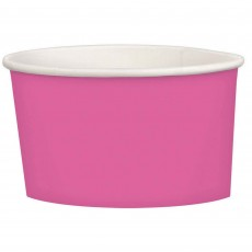 Bright Pink Treat Paper Cups 280ml Pack of 20