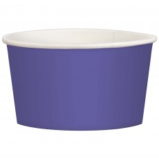 Purple New Treat Paper Cups