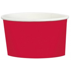 Apple Red Treat Paper Cups 280ml Pack of 20