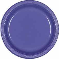 Purple New Plastic Lunch Plates