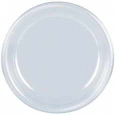 Clear Plastic Lunch Plates