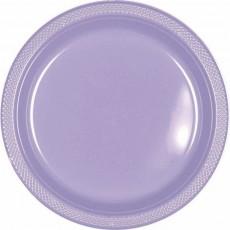 Lavender Party Supplies - Dinner Plates Plastic