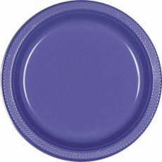 Purple New Plastic Dinner Plates
