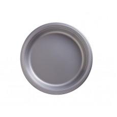 Silver Plastic Dinner Plates